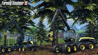Download Farming Simulator 2015 - Trabalhando Com Madeira Mina De Ouro Video