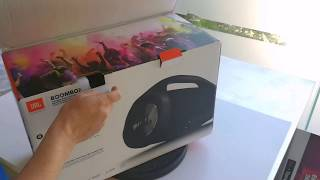 Download JBL Boombox unboxing the big Bluetooth speaker Video