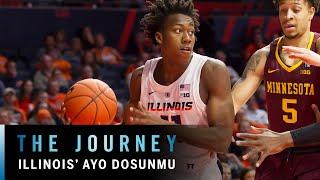 Download Illinois' Standout Freshman Ayo Dosunmu   Big Ten Basketball   The Journey Video