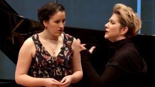 """Download Joyce DiDonato Master Class 2015: Mozart's """"Mi tradi quell'alma ingrata"""" from Don Giovanni Video"""