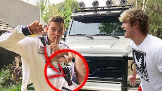 Download STOLE LOGAN PAUL'S YETI **prank** (he was pissed) Video