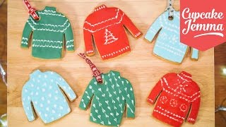 Download How to Make Christmas Jumper Cookies | Cupcake Jemma Video