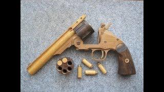 Download REV◎LVER RUBBER BAND GUN 01.0 S&W M3 top break reload Video