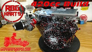 Download 420cc Predator Stage 2 Engine Build ~ Billet Rod, Billet Flywheel & Performance Cam Video