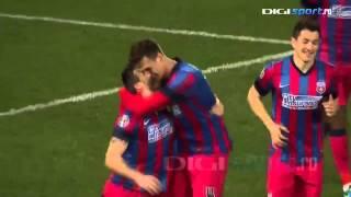 Download Steaua - Gaz Metan Mediaș 3-0 (15.martie.2014) Video