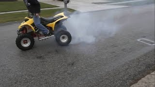 Download Honda 400ex Burn Out Video