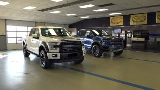 Download 2017 FORD RAPTOR VS ROUSH F-150 OFFROAD TRUCK SUPERCHARGED 600hp 650hp 17 LARIAT ecoboost turbo Video