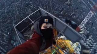 Download Amazing people | TOP 5 BEST ROOFERS IN THE WORLD | climbing high places Video