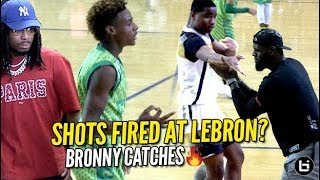 Download Shots Fired at LeBron! Bronny RESPONDS w/ Quavo Watching! CAUGHT FIRE FROM DEEP! Video