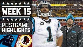 Download Panthers vs. Redskins | NFL Week 15 Game Highlights Video