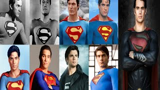 Download Superman Actors: 1948, 1951, 1978, 1988, 1989, 1993, 2001, 2006, 2013 Video