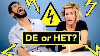 Download ELECTRIC SHOCK challenge ⚡ Dutch language students: DE or HET? Video