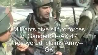 Download 2 militants killed in Awantipura gunfight Video
