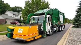 Download Waste Management: Peterbilt 320/ McNeilus Atlantic FL w/ Curotto Can Video