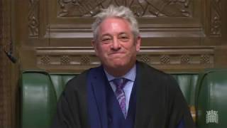 Download BREXIT - Furious Brexiteers raise questions about Speaker Bercow in angry parliamentary exchanges Video