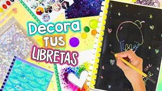 Download LAS 16 MEJORES IDEAS PARA DECORAR TUS LIBRETAS ¡Ideas VIRALES y ÚNICAS! ✎ ✄ Craftingeek Video