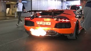 Download LAMBORGHINI AVENTADOR TOO LOUD FOR POLICE! Video