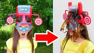 Download DUNK HAT CHALLENGE!! - Warning: Extremely Messy & Gross! Video