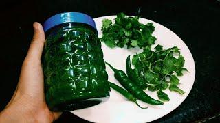 Download Pudine or Dhaniye ki chutney 6 mahine store karein| garmi me uthae pura faeda Video