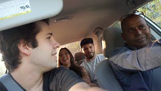 Download OUR UBER DRIVER MURDERED SOMEONE!! | David Dobrik Video