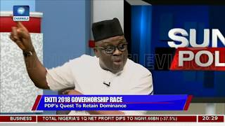 Download Those Who Wait For Me After Leaving Office Will Wait In Vain- Fayose | Politics Today | Video