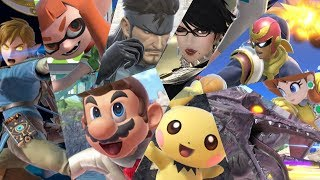 Download Super Smash Bros Ultimate: All 68 Characters (Gameplay Showcase) Video