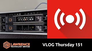 Download VLOG Thursday 151: New Servers, Active Directory and My Huntress Labs Trip Video
