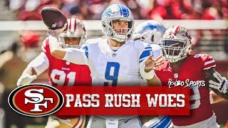 Download Live! 49ers Defense Struggles | Jaquiski Tartt Suffers Shoulder Injury | Matt Breida Stars! Video