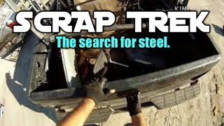 Download Collecting scrap metal and other items to recycle for cash. Video