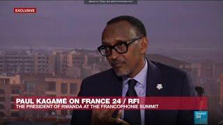 Download Rwanda's Kagame: Macron has brought 'freshness' to world politics Video