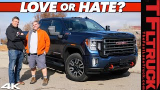 Download Here's Why I Bought A 2020 GMC Sierra HD AT4 & NOT A Power Wagon: Dude, I Love (Or Hate) My New Ride Video