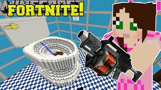 Download Minecraft: GIANT TOILET - FORTNITE BATTLE ROYALE - Modded Mini-Game Video