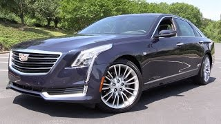 Download 2016 Cadillac CT6 (3.6L AWD) - Start Up, Road Test & In Depth Review Video