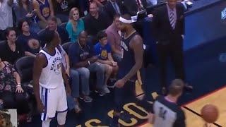 Download Draymond Green And DeMarcus Cousins Get Real Physical Video