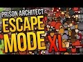 Download MASSIVE MASSACRE - Prison Architect Escape Mode XL Episode ★ Escape Mode Gameplay Video