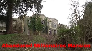 Download Abandoned Millionaires Mansion With Cars And Everything Still Inside Video