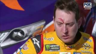 Download 2017 Kobalt 400 @ Las Vegas - Kyle Busch/Joey Logano Fight Video