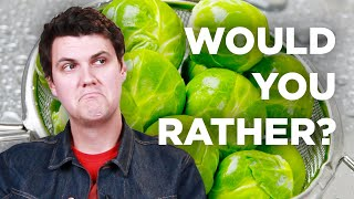 Download The Hardest ″Would You Rather″ For Picky Eaters Video