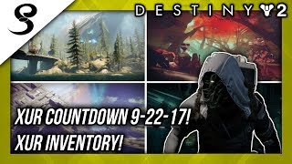Download Destiny 2 - XUR LOCATION 9-22-17! XUR INVENTORY! Video