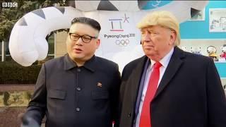 Download 'Kim Jong-un' dạo phố cùng 'Donald Trump' Video