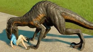 Download ALL CARNIVORES EATING HUMANS - Jurassic World Evolution Video