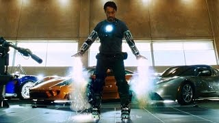 Download Iron Man - ″Yeah, I Can Fly″ - First Flight Test (Scene) Iron Man (2008) Movie CLIP HD Video