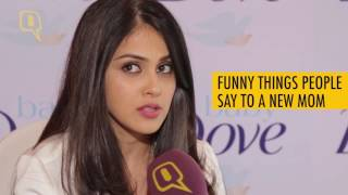Download The Quint: Genelia D'Souza Discusses The Truth Behind Being A Mom Video