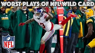 Download Worst Plays   NFL Wild Card Highlights Video