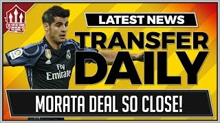 Download Alvaro MORATA to MANCHESTER UNITED for 70 Million! MUFC Transfer News Video