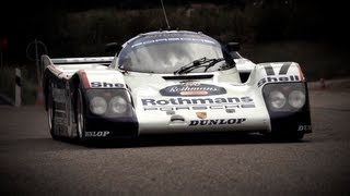 Download Flat Out In a Le Mans Winning Porsche 962 - /CHRIS HARRIS ON CARS Video