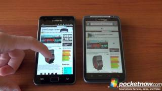Download Galaxy S 2 vs. iPhone, Thunderbolt, Focus (Web Browsing) Video