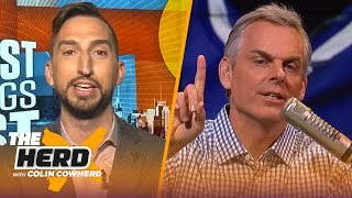 Download Rockets are 3rd best in NBA, talks Embiid's sprain & Brady leaving Pats — Nick Wright | THE HERD Video