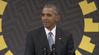 Download Highlights: Obama on Trump, TPP in last international news conference Video