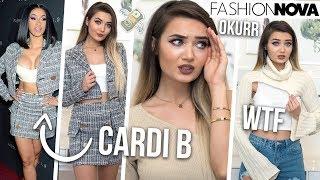 Download TRYING ON CARDI B X FASHION NOVA CLOTHING... SIS HOW MUCH!? Video